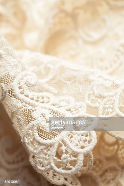 lace - frilly stock photos and pictures