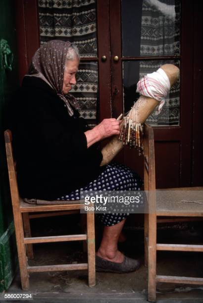 Lacemaker at Work
