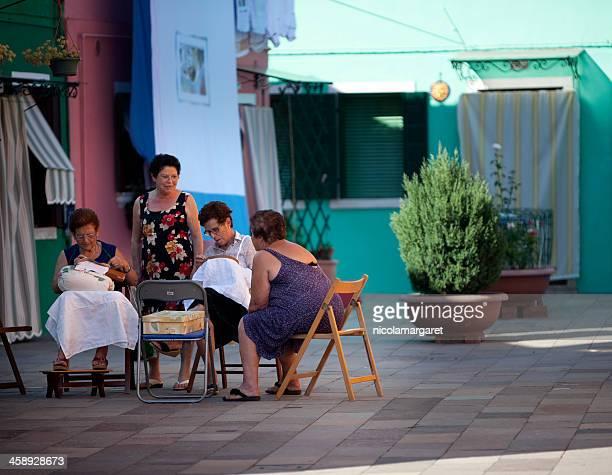 Fabbricazione merletti a Venezia