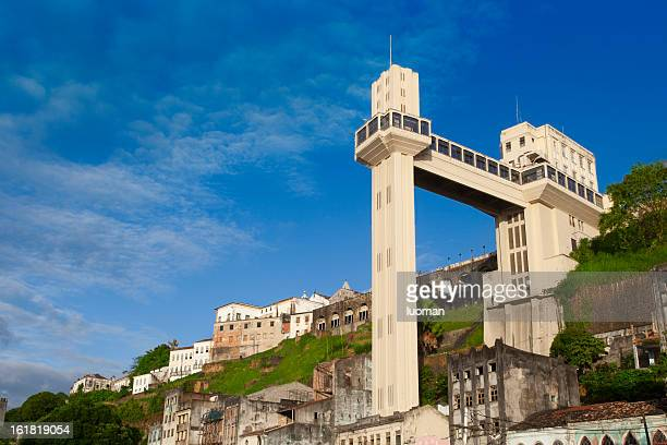 lacerda elevator in salvador - bahia state stock pictures, royalty-free photos & images
