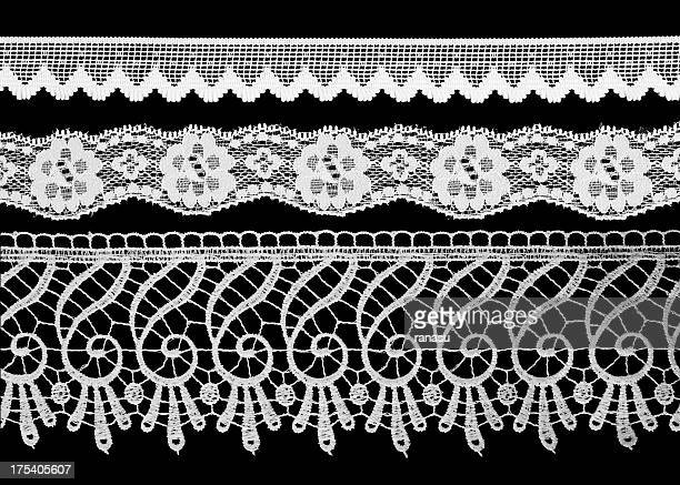 laces - frilly stock photos and pictures