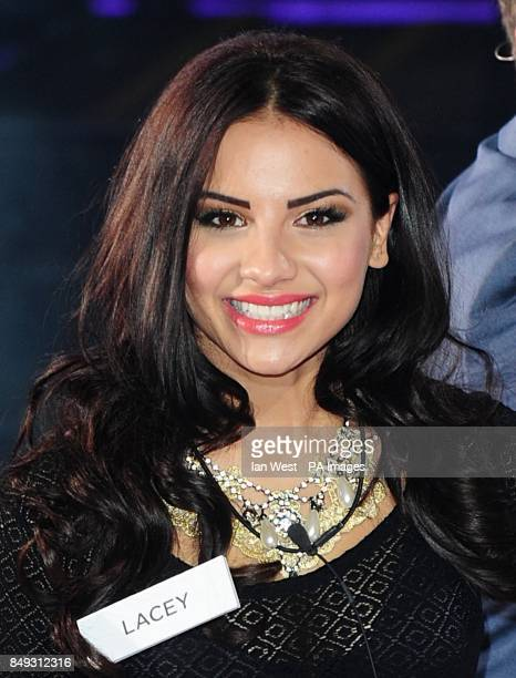 Lacey Banghard arriving at the launch of Celebrity Big Brother 2013 Elstree Studios Borehamwood