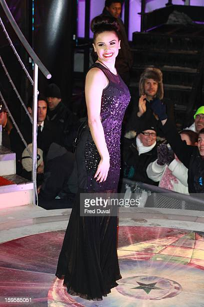 Lacey Banghard is the 3rd celebrity evicted from the Big Brother house at Elstree Studios on January 16 2013 in Borehamwood England