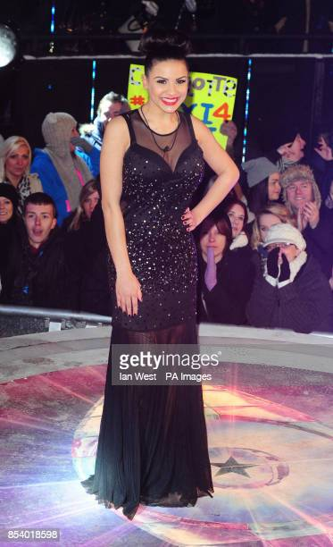 Lacey Banghard leaves the Celebrity Big Brother house after being evicted