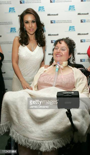 Lacey Chabert and Brooke Ellison during The Brooke Ellison Story New York Premiere Inside at Lincoln Center Alice Tully Hall in New York City New...