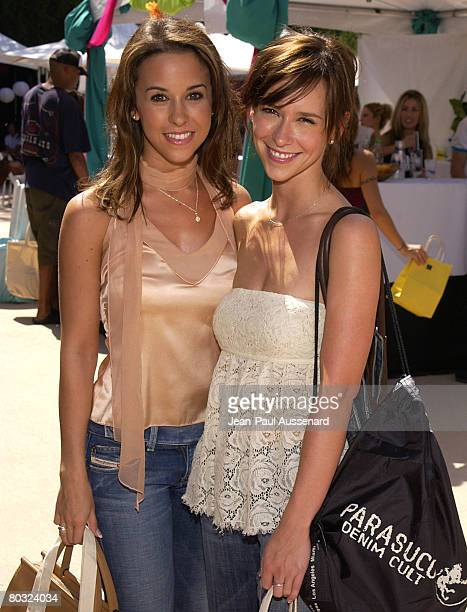 Lacey Chabert and Jennifer Love Hewitt Photo by JeanPaul Aussenard/WireImage for Silver Spoon