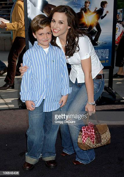 Lacey Chabert and nephew Ethan during 'Lemony Snicket's A Series of Unfortunate Events' Los Angeles Premiere Arrivals at Cinerama Dome in Hollywood...