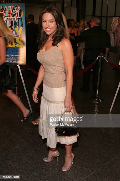 Lacey Chabert attends Dirty Deeds World Premiere at Directors Guild of America on August 23 2005 in Hollywood CA