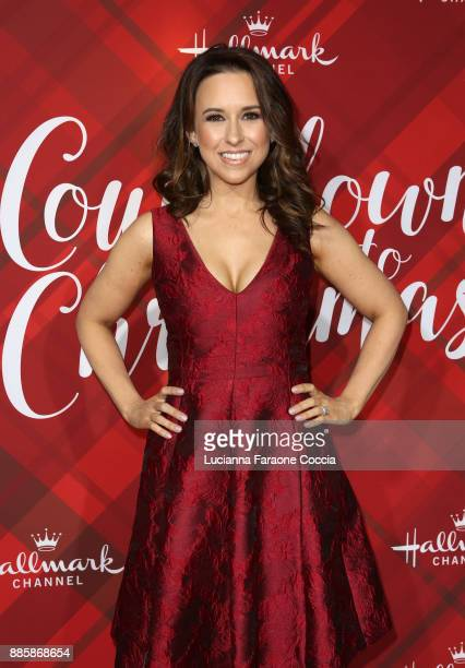 "Lacey Chabert attends Hallmark Channel's ""Countdown To Christmas"" celebration and VIP screening of ""Christmas At Holly Lodge"" at The Grove on..."