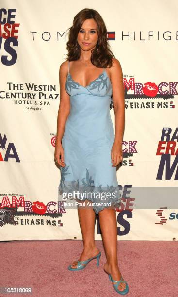 Lacey Chabert during 11th Annual Race To Erase MS Gala Arrivals at The Westin Century Plaza Hotel in Los Angeles California United States