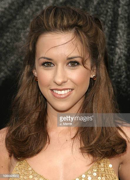 Lacey Chabert during 1st Annual Palms Casino Royale to Benefit The Lakers Youth Foundation at Barker Hangar in Santa Monica California United States