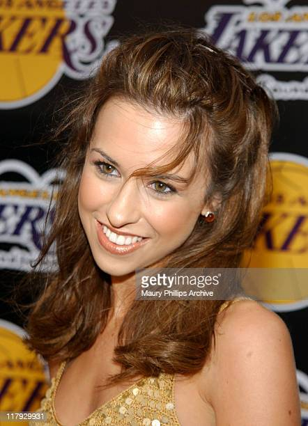 Lacey Chabert during 1st Annual Palms Casino Royale to Benefit The Lakers Youth Foundation at Santa Monica's Barker Hangar in Santa Monica, United...