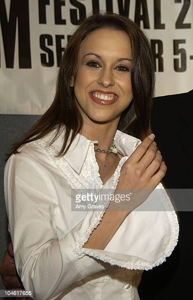 """Lacey Chabert during 2002 Toronto Film Festival - """"The Wild Thornberrys Movie"""" Press Conference at Four Seasons in Toronto, Ontario, Canada."""