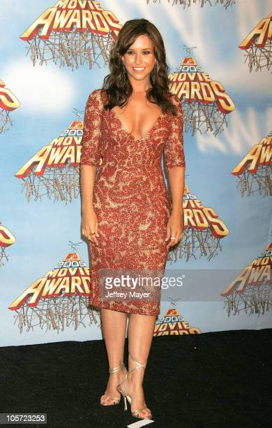 Lacey Chabert during 2005 MTV Movie Awards - Press Room at Shrine Auditorium in Los Angeles, California, United States.