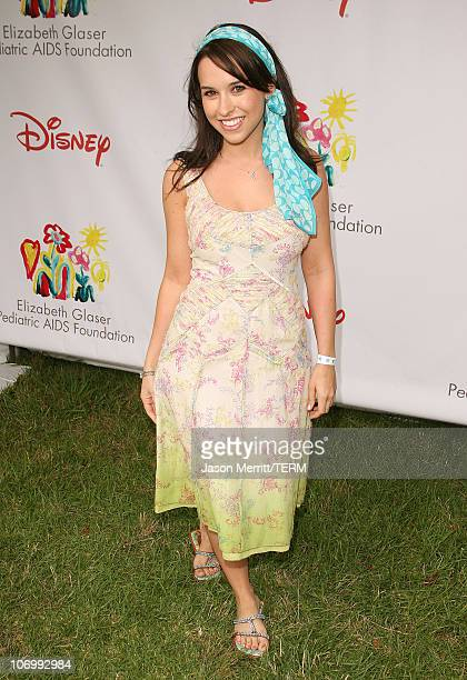 Lacey Chabert during 'A Time for Heroes' Carnival Hosted By Disney Arrivals at Wadsworth Theater in Westwood California United States