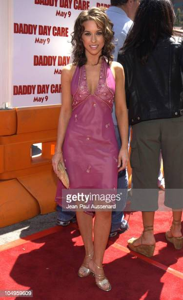 "Lacey Chabert during ""Daddy Day Care"" Premiere Benefiting the Fulfillment Fund at Mann National - Westwood in Westwood, California, United States."