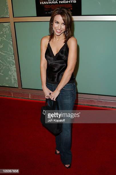 "Lacey Chabert during ""Dirty Dancing: Havana Nights"" World Premiere at The Arclight Cinerama Dome in Hollywood, California, United States."