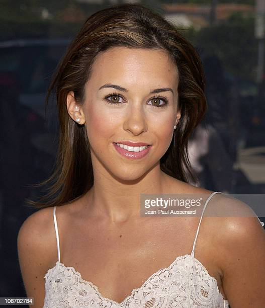 """Lacey Chabert during Glamour Magazine and Maserati Present The """"Exclusive Beauty Lounge"""" Hosted by Josie Maran to Benefit Ecolutions at Donicia..."""