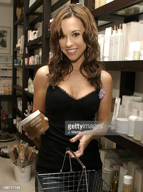 Lacey Chabert during Lacey Chabert at the Beauty Bar at The Beauty Bar in Beverly Hills, California, United States.