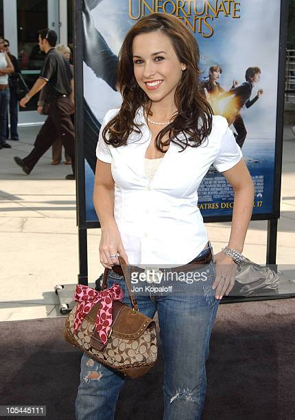 Lacey Chabert during Lemony Snicket's A Series Of Unfortunate Events World Premiere Arrivals at Grauman's Chinese Theater in Hollywood California...