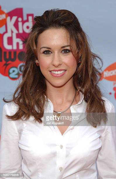 Lacey Chabert during Nickelodeon's 17th Annual Kids' Choice Awards - Arrivals at Pauley Pavillion in Westwood, California, United States.