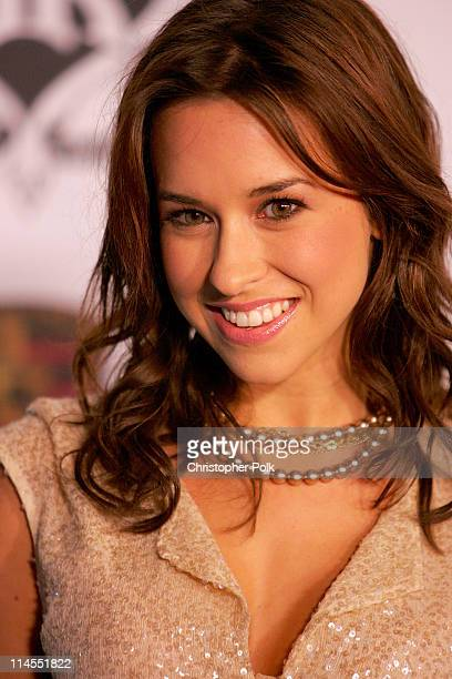 """Lacey Chabert during Rock & Republic """"Love Rocks"""" Fashion Show Spring 2006 at Sony Studios in Culver City, CA, United States."""