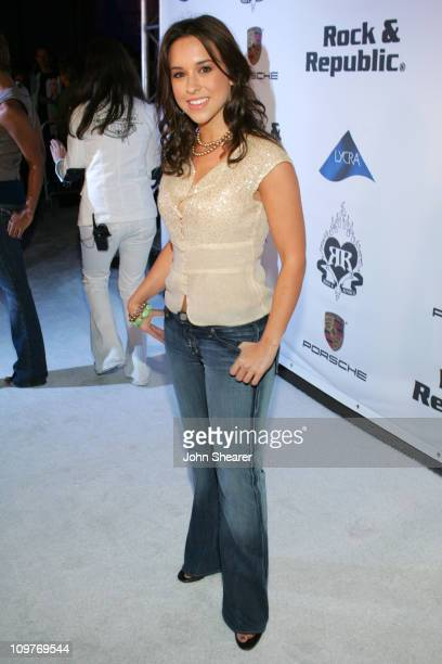 Lacey Chabert during Rock Republic 'Love Rocks' Fashion Show Spring 2006 White Carpet at Sony Pictures Studios in Culver City California United States
