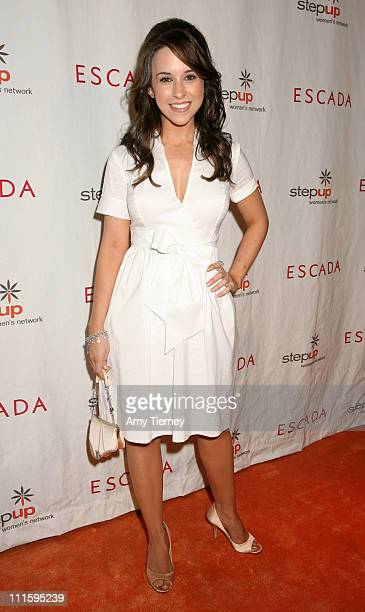 Lacey Chabert during Step Up Women's Network 4th Annual Inspiration Awards at Beverly Wilshire Hotel in Beverly Hills California United States