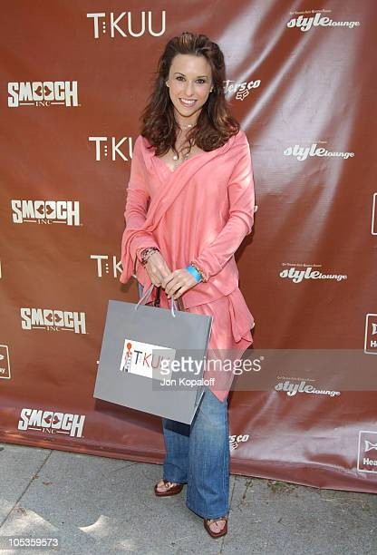 Lacey Chabert during Style Lounge Honoring Heal the Bay Presented by Kari Feinstein PR Day 1 at Chaz Dean Studio in Hollywood California United States