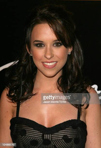 Lacey Chabert during The 3rd Annual Lakers Casino Night Arrivals at Barker Hangar in Santa Monica California United States