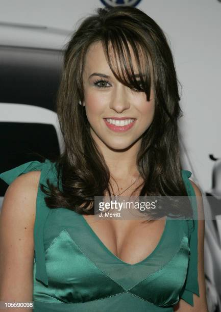 Lacey Chabert during The Premiere of the 2005 Volkswagen Jetta Arrivals at The Lot in Hollywood California United States