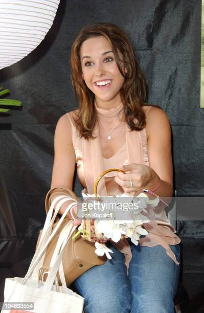 Lacey Chabert during The Silver Spoon Beauty Buffet Sponsored By Allure at Private Residence in Hollywood California United States