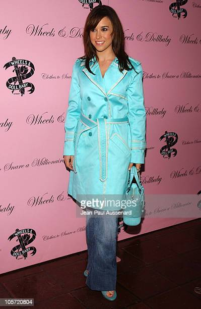 Lacey Chabert during Wheels and Doll Baby Launch Party at Chateau Marmont in Los Angeles California United States