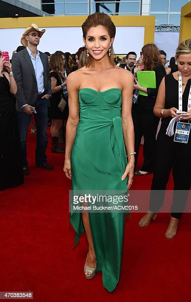 Lacey Owen attends the 50th Academy of Country Music Awards at ATT Stadium on April 19 2015 in Arlington Texas