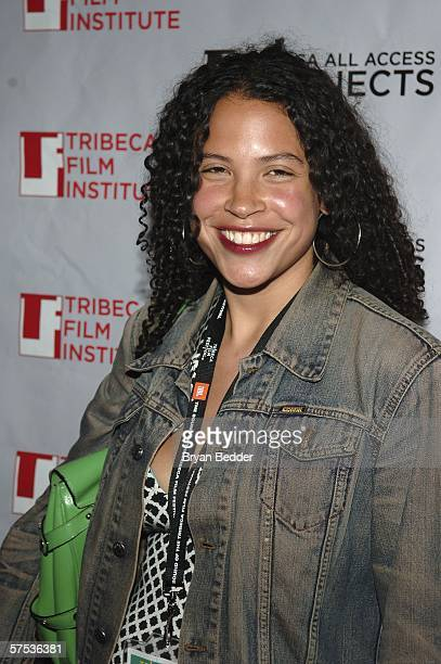 Lacey Schwartz attends the TAA Closing Night Party during the 5th Annual Tribeca Film Festival May 4, 2006 in New York City.