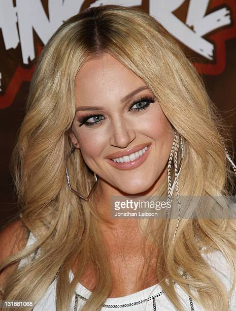 Lacey Schwimmer arrives to the Monsters Strangerz LA Launch Party at MyHouse Nightclub on June 9 2011 in Hollywood California