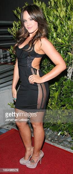 Lacey Schwimmer attends the Birthday Celebration For Edyta Sliwinska From 'Dancing With The Stars' at XIV on May 24 2010 in West Hollywood California