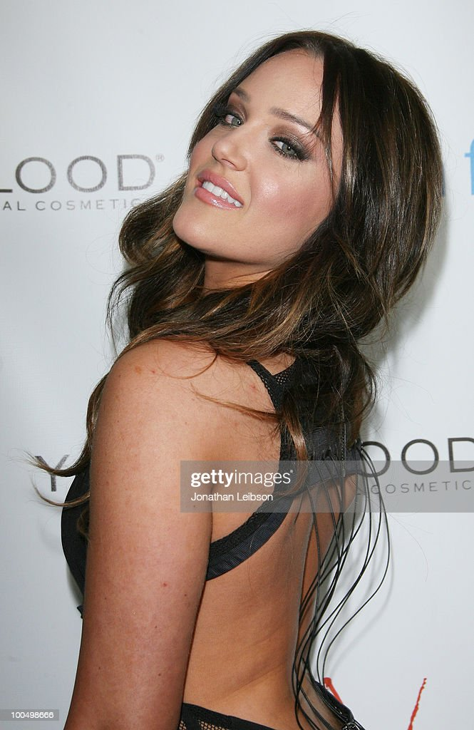 Lacey Schwimmer attends the Birthday Celebration For Edyta Sliwinska From 'Dancing With The Stars' - at XIV on May 24, 2010 in West Hollywood, California.