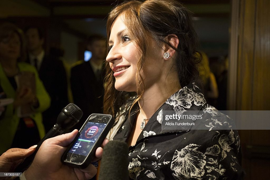Lacey Sturm attends the Billy Graham birthday party on November 7, 2013 in Asheville, United States.