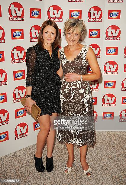 Lacey Turner and Gillian Wright arrive at the TVChoice Awards 2010 held at The Dorchester on September 6 2010 in London England