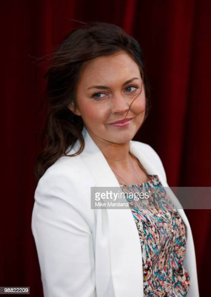 Lacey Turner attends 'An Audience With Michael Buble' at The London Studios on May 3, 2010 in London, England.