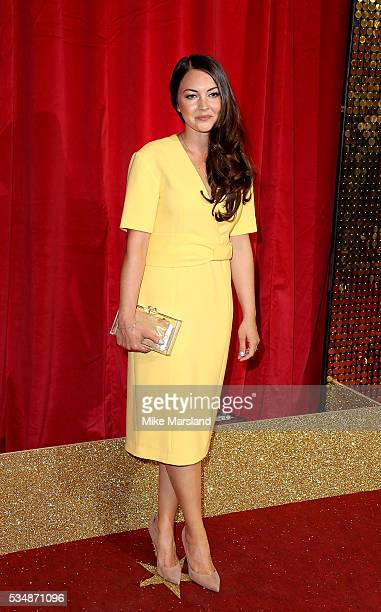 Lacey Turner attends the British Soap Awards 2016 at Hackney Empire on May 28 2016 in London England