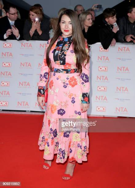 Lacey Turner attends the National Television Awards 2018 at the O2 Arena on January 23 2018 in London England