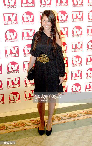 Lacey Turner during TV Quick Awards TV Choice Awards Inside Arrivals at The Dorchester in London Great Britain