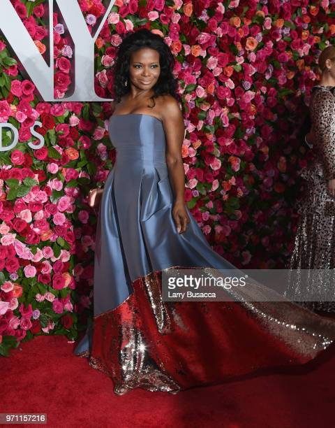LaChanze attends the 72nd Annual Tony Awards at Radio City Music Hall on June 10 2018 in New York City