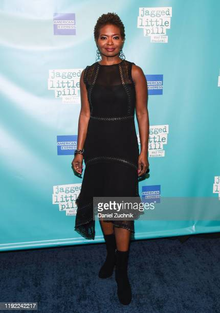 LaChanze attends the after party of the opening night of the broadway show Jagged Little Pill at Broadhurst Theatre on December 05 2019 in New York...