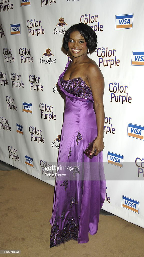 LaChanze during 'The Color Purple' Broadway Opening Night - After Party at The New York Public Library in New York City, New York, United States.