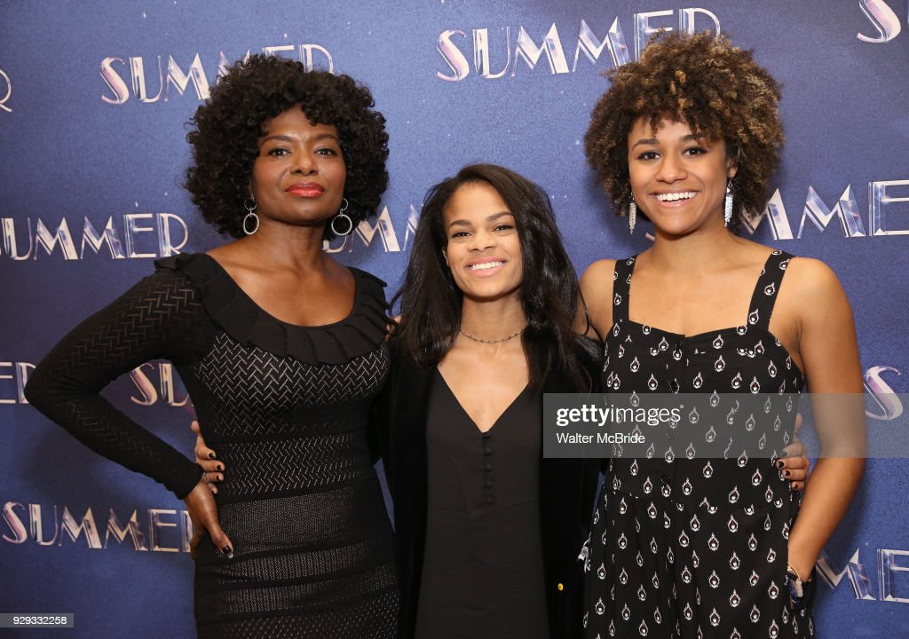 Summer the donna summer musical lachanze storm lever and ariana debose attend the meet greet for summer m4hsunfo