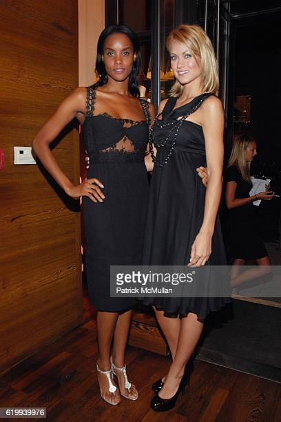 Lachelle and Amber Seyer attend LA PERLA CELEBRATES FALL 2008 COLLECTION at Rodeo Drive on October 22 2008 in Beverly Hills CA