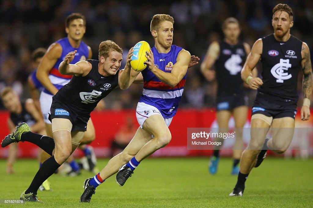 AFL Rd 4 - Carlton v Western Bulldogs : News Photo